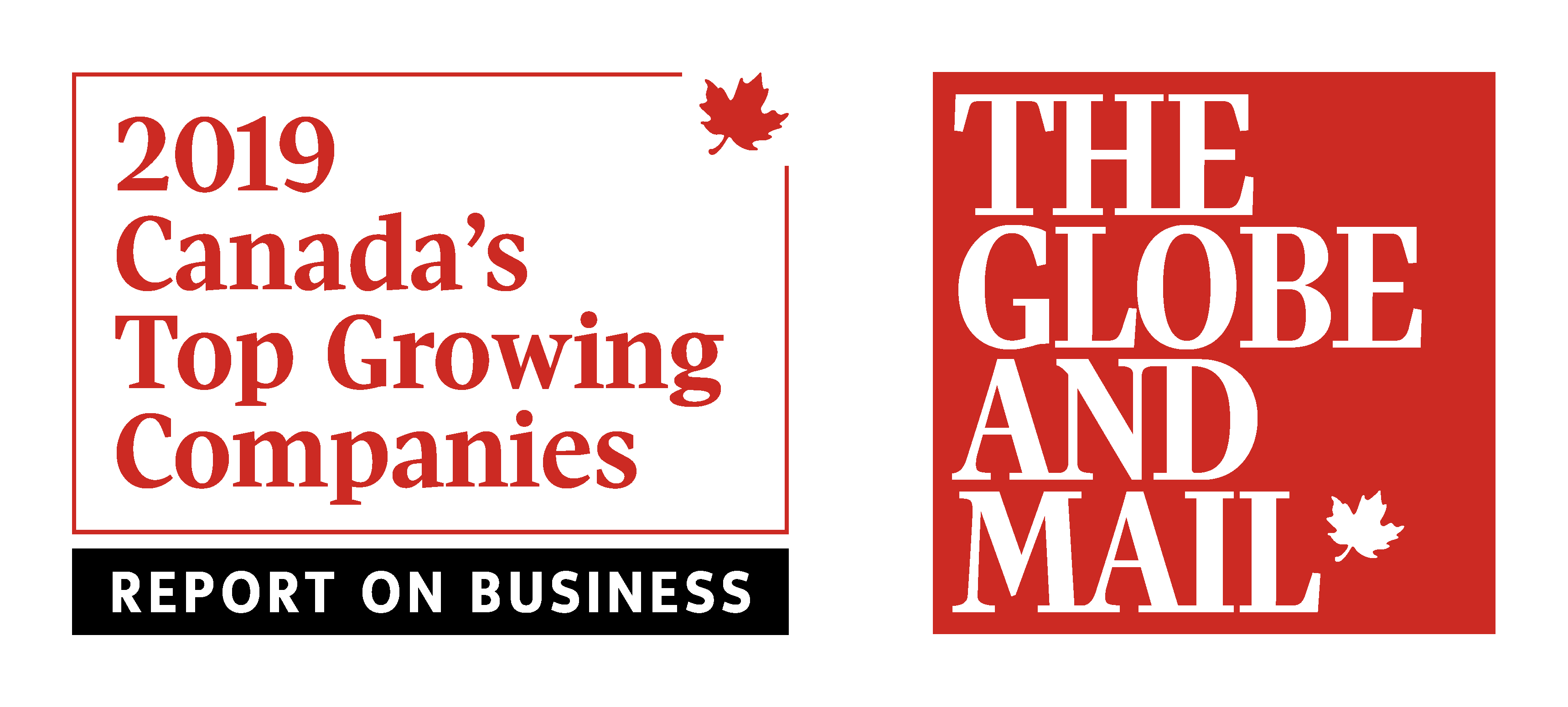 The Globe and Mail 2019 Top Growing Companies