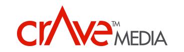 Crave Media logo
