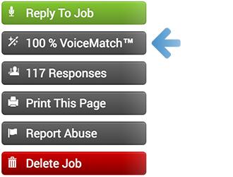 VoicesMatch Recommendations