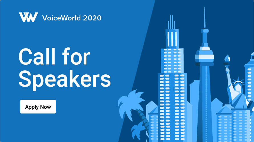 VoiceWorld 2020 Call for Speakers