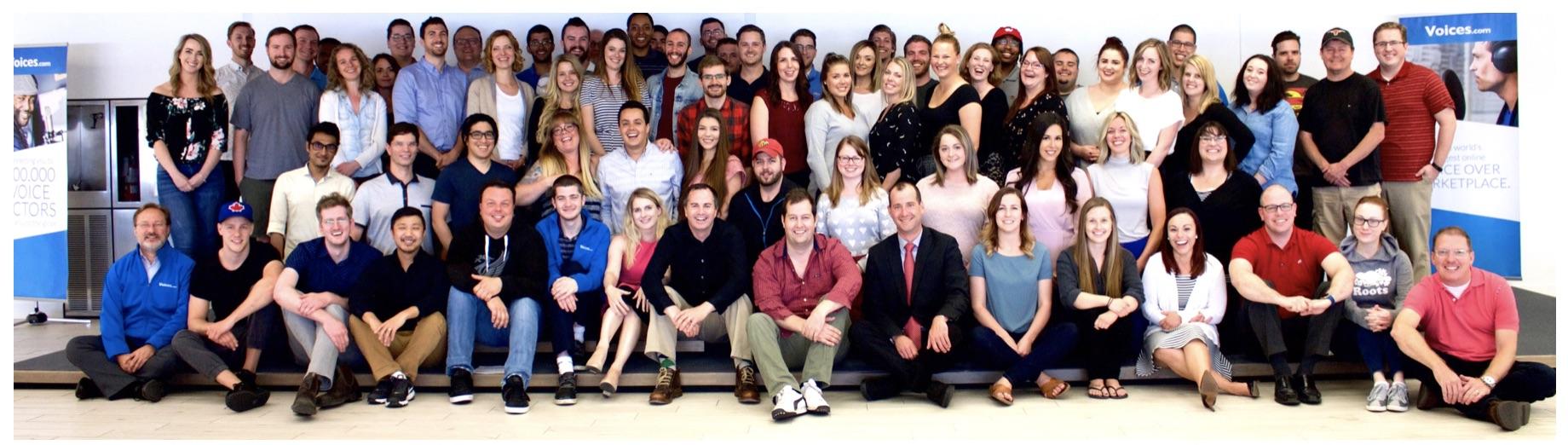 Voices.com Team Photo