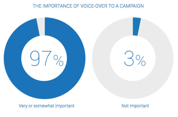 Impact of Voice Over on Ad Campaigns