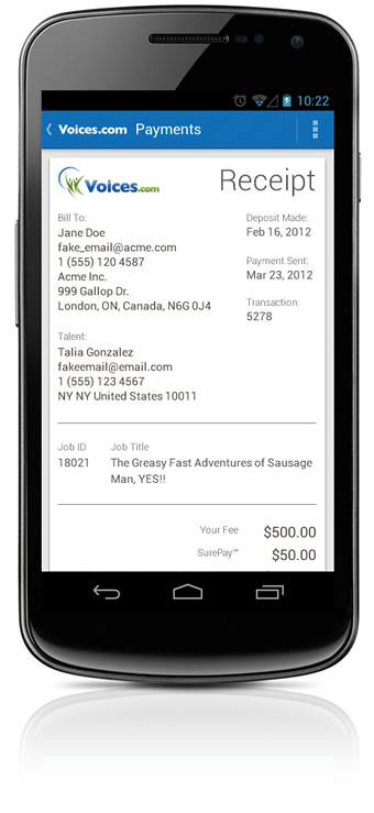 Payments on Your Android Mobile Phone or Tablet