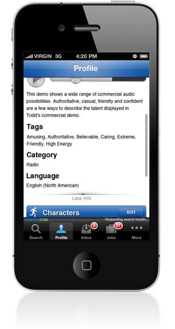 Edit Audio Sample Details on iPhone