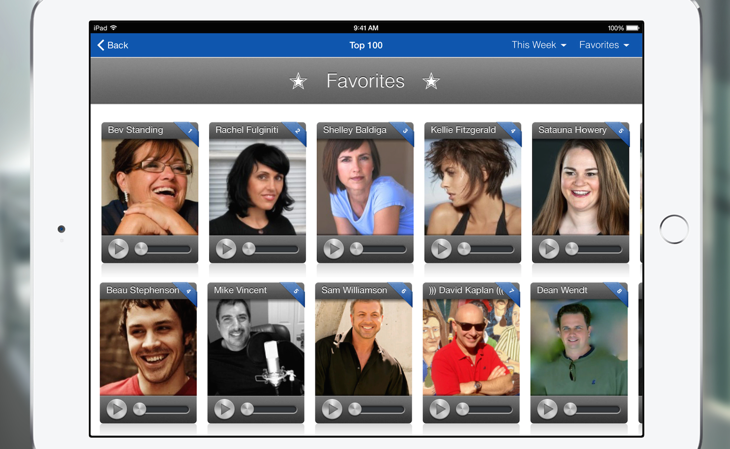 Website or iPhone App To Find Voice Talent
