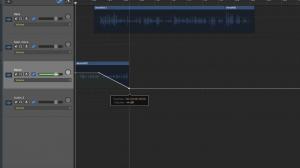 Editing in GarageBand