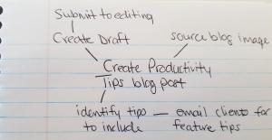 cloud lists to help productivity