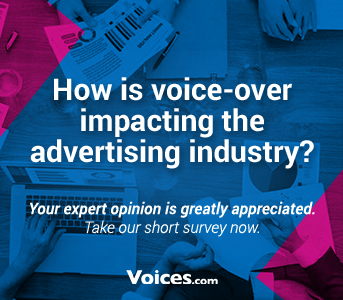 Voices.com Survey On How Voice-Over Impacts Ad Industry | Voices.com Blog - Where clients and voice actors can find valuable information on pre-production, technology, animation, video and audio production, home recording studios, business growth, voice acting and auditions, celebrity voice actors, voiceover industry news and more!