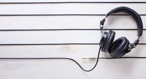Voice actor headphones