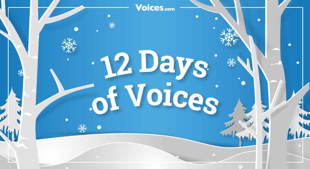 12 Days of Voice Over