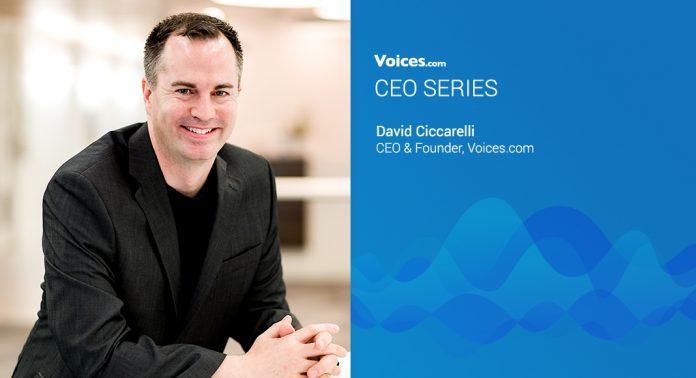 Voices.com CEO and Founder David Ciccarelli