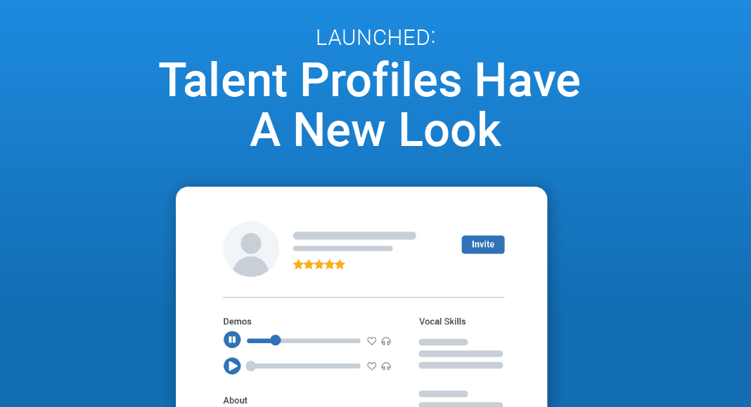 Talent Profile Redesign