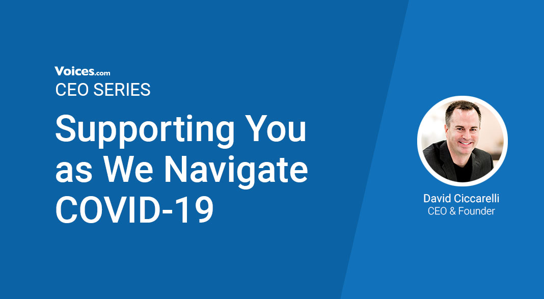 CEO Series David Ciccarelli Supporting You as We Navigate COVID-19