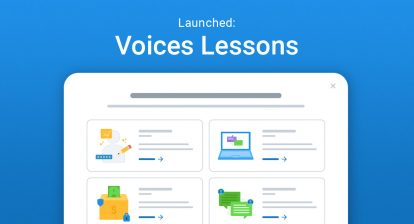 Launched: Voices Lessons