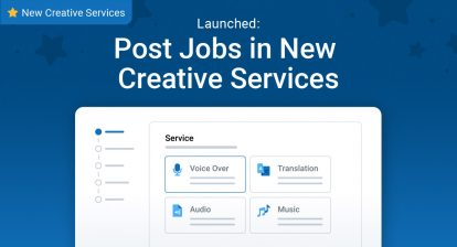 Launched: Post Jobs in New Creative Services