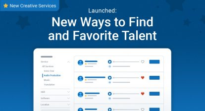 New Ways to Find and Favorite Talent