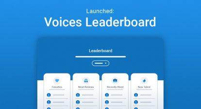 Voices Leaderboard header image