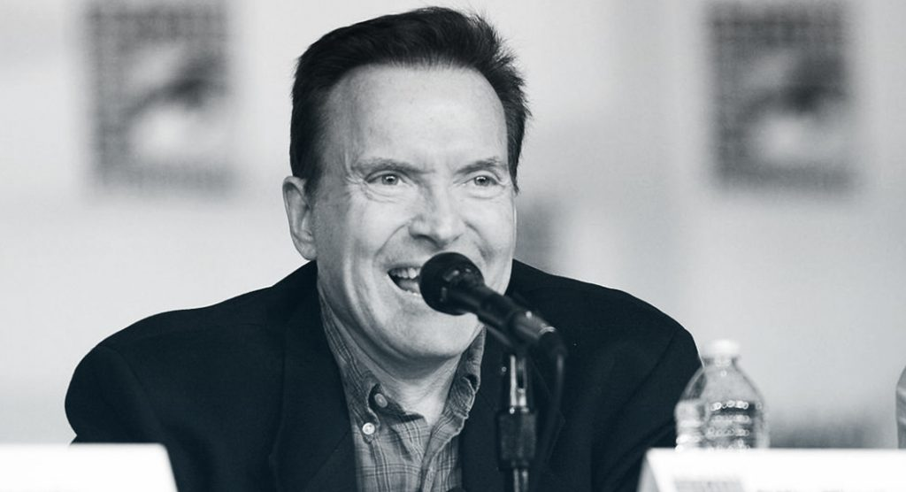 Billy West talks at the San Diego Comic Con in 2012
