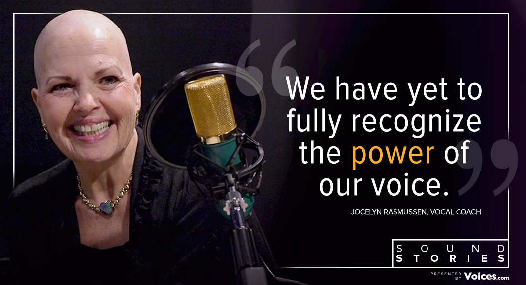 "Quote from Jocelyn Rasmussen says ""We have yet to fully recognize the power of our voice."""