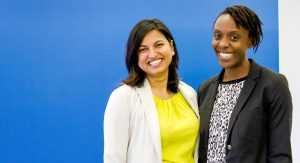 Sunali and Mikayla from International Justice Mission Canada