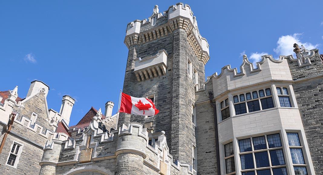 Casa Loma in Toronto, Ontario Canada - a famous film location