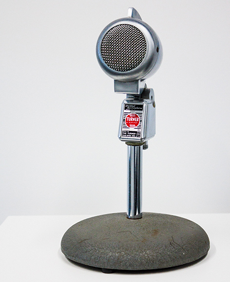 Turner 22X Crystal Cardioid Microphone, Voices.com Audio Museum