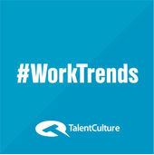 The #Worktrends podcast iTunes cover shot