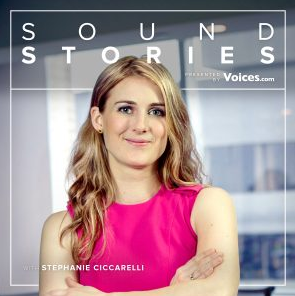 Sound Stories podcast cover photo