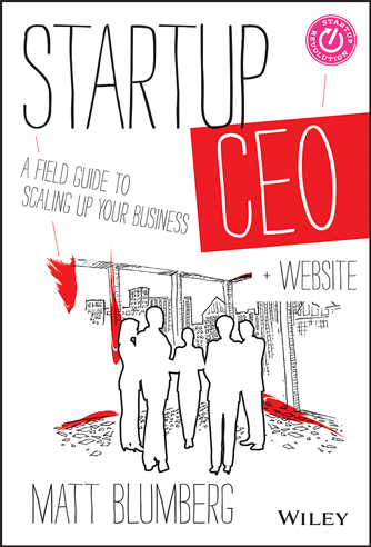 Startup CEO book cover