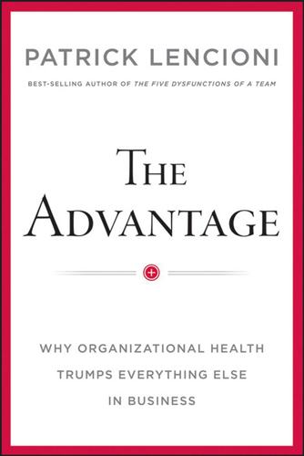 Book cover for The Advantage
