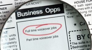 Full Time Voice Over Jobs
