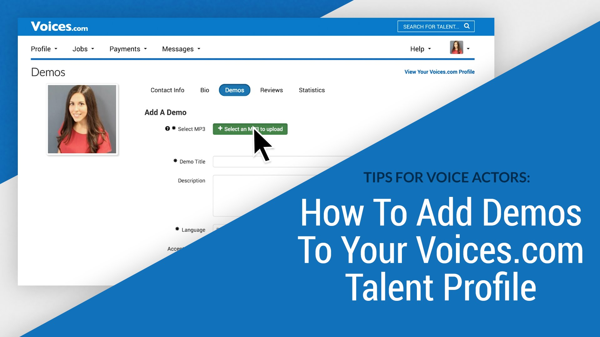 Tips for Voice Actors