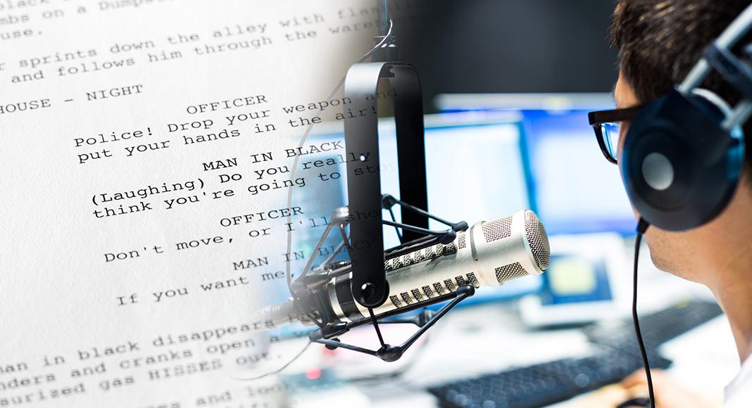 Radio scripts