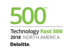 Deloitte's 2018 Technology Fast 500™ Award Logo.