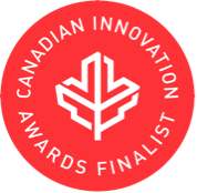 2018 Canadian Innovation Awards Finalist Logo.