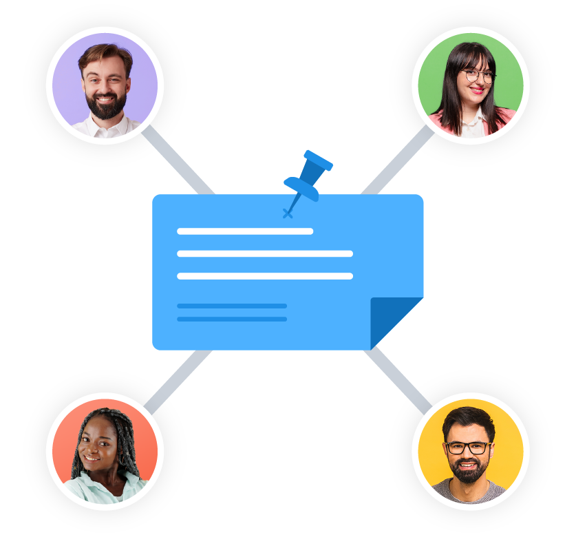 A job posting connecting to 4 talent on Voices.